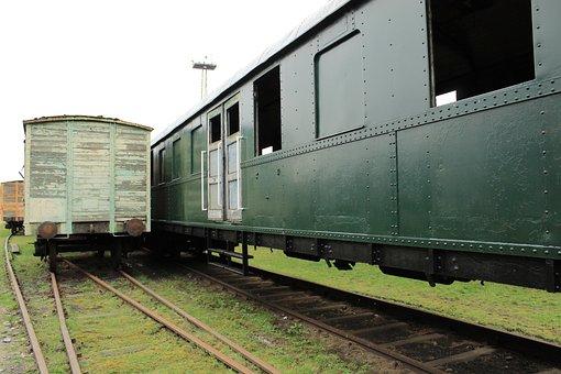 Train, Old, Monument, Nostalgia
