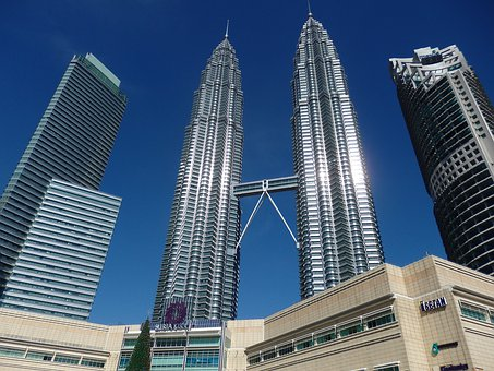 Petronas Twin Towers, Twin Towers, Kuala Lumpur
