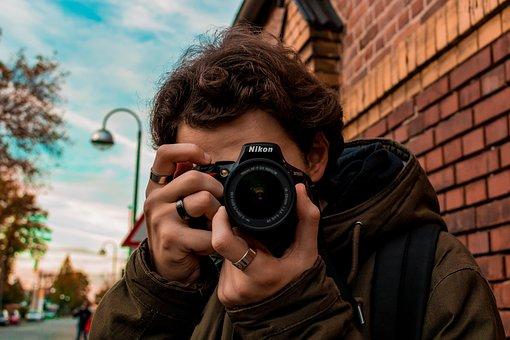 Guy, Nikon, Goal, Photographer, Photo, Work, Passion