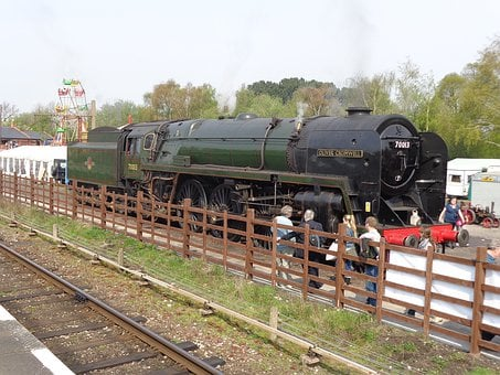 Steam, Engine, Train, Railway, Locomotive, Smoke
