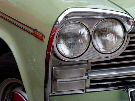 Car, Old, Classic, Retro, Vintage, Seat 1500, Detail
