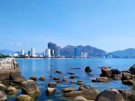 City View, Riverside, Sky, Vietnam, Destination