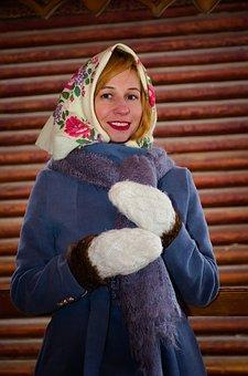 Girl, Woman, Russia, Slav, Russians, Russian Folk Style