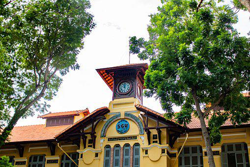 Saigon, University, Vietnam, Trees, Travel, Outdoors