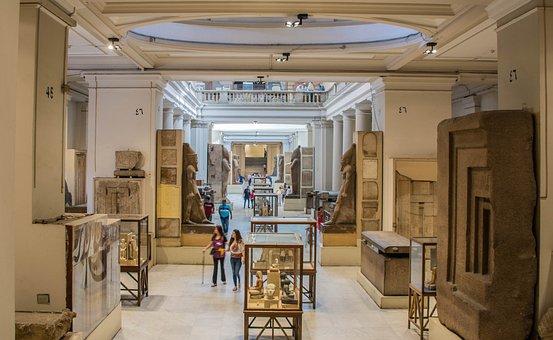 Museum, Egypt, Sculpture, Ancient Times