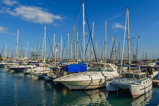 Marina, Boat, Yacht, Mast, Sea, Nautical, Boats, Port