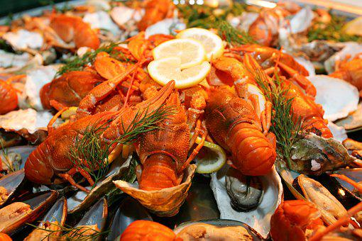 Lobster, Seafood, Buffet