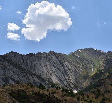 Mountain, Cloud, Mesopotamia, Landscape, Walk, Sky