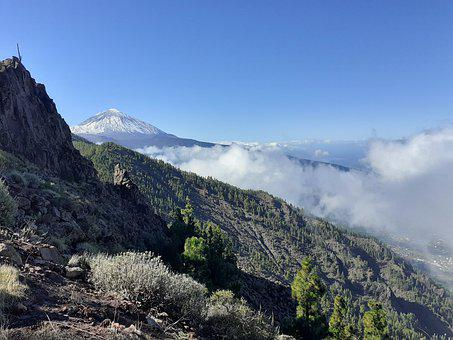 Tenerife, Tiede, Mountain, Landscape, Nature, Summit