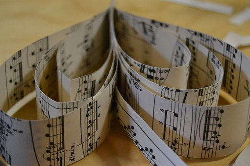 Music, Note Paper, Heart, Tinker, Do It Yourself