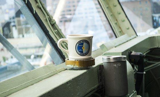 Mug, Bridge, Aircraft Carriers, Fleet, Usn