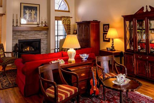 Living Room, Family Room, Great Room, Antique Furniture