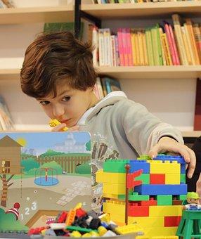 Baby, Lego, Boy, Constructor, Architect, Fantasy