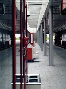 Metro, Vienna, Underground, Austria, Construction, City