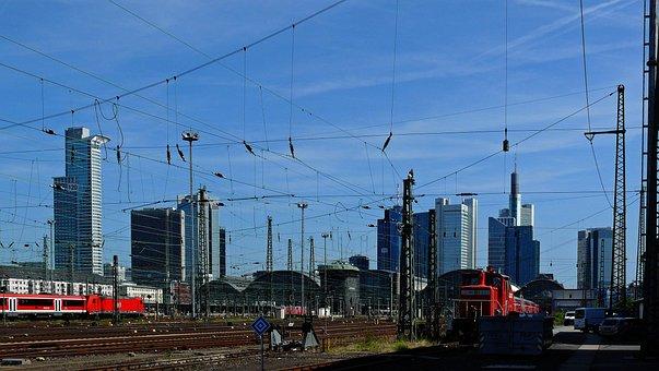 Train Ride, Railway Station, Platform, Bahnsteigkante