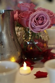 Wedding, Party, Candle, Banquet, Wedding Party
