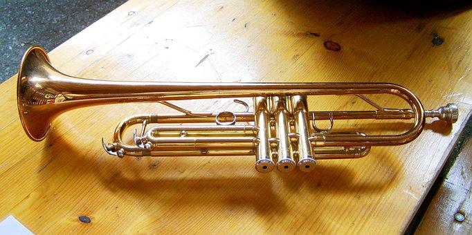 Trumpet, Musical Instrument, Brass Wind Instrument