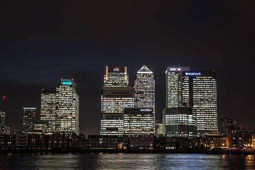 Canary Wharf, London, Canary, Wharf, Business