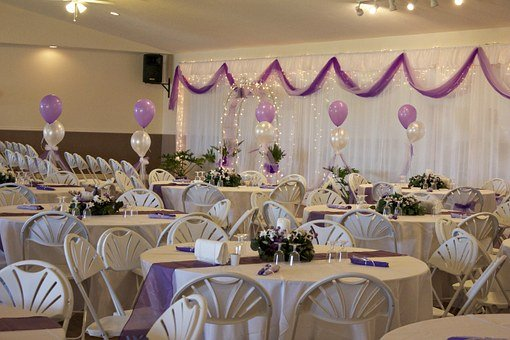 Wedding, Tables, Chairs, Decoration, Party, Celebration