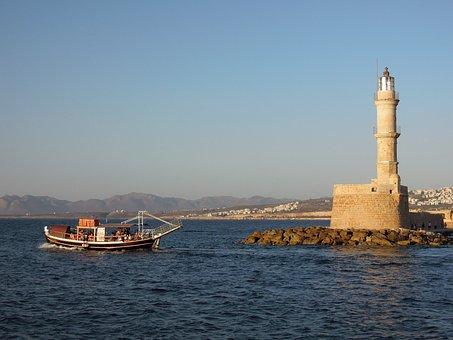 Chania, Crete Island, Greek, Rocks, Nature, Landscape