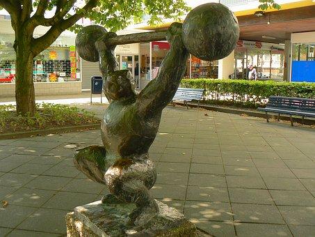 Amsterdam, Statue, Sculpture, City, Urban, Close-up