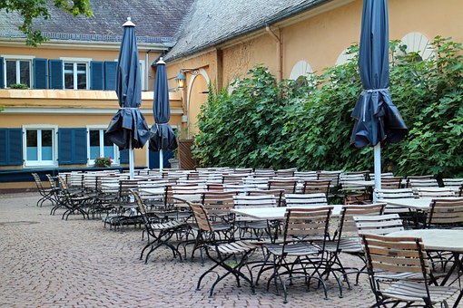 Metal Chairs, Garden Furniture, Garden Table