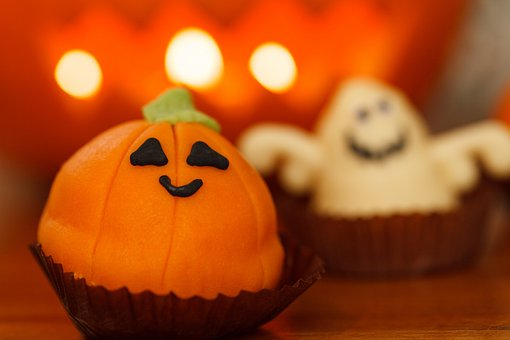 Sweet, Food, Halloween, Dessert, Holiday, Orange, Treat