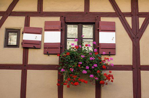 Truss, Facade, Castle, Imperial Castle, Nuremberg