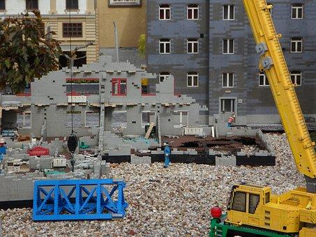 Legoland, Building Blocks, Legos, Lego, Out Of Legos