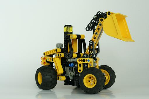 Lego, Technic, Shovel, Construction, Plastic, Toy