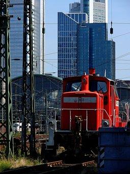 Architecture, Train Ride, Railway Station, Platform
