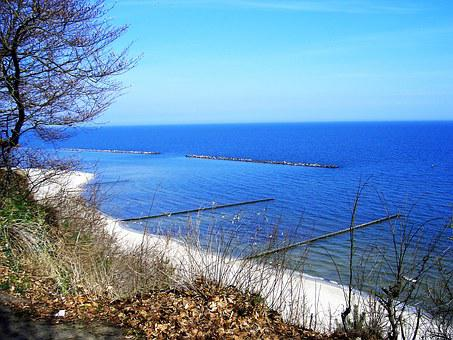 Baltic Sea, Island Of Usedom, Beach, Sea