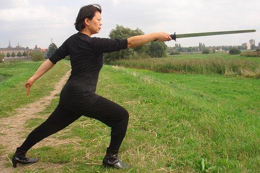 Shaolin Kung Fu, Swordplay, Pose