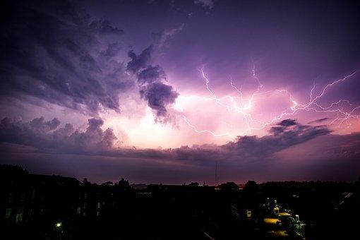 Weather, Münster, Flash, Sky, Westfalen, Weather Mood