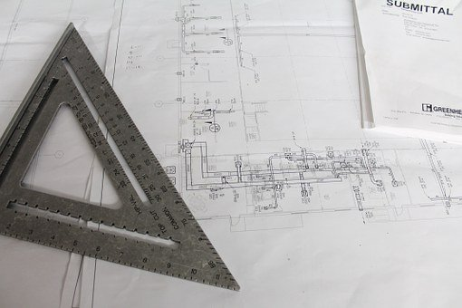 Construction, Plans, Square, Plan, Building, Architect