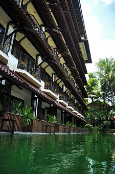 Hotel, Pool, Pond, Vacation, Resort, Swimming Pools