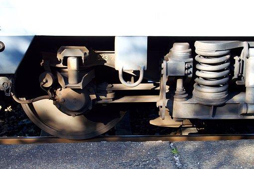 Wheel, Wagon, Train Ride, Railway, Railway Station, Db