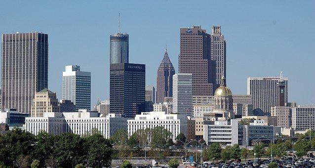 Atlanta, Georgia, Cityscape, City, Usa, Downtown