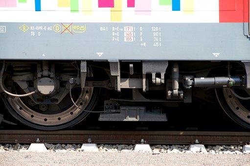 Wheels, Wagon, Train Ride, Railway, Railway Station, Db