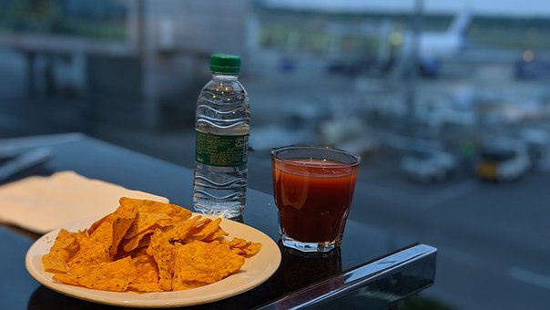 Food, Airport Snack, Airport Lounge