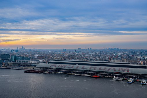 Amsterdam, Netherlands, Holland, City View, Capital
