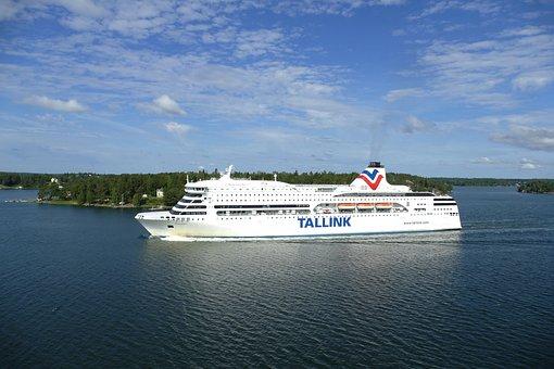 Stockholm, Sweden, Ferry, Archipelago, Ship
