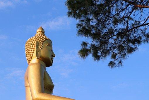 Thailand, Buddha, Buddhist, Asia