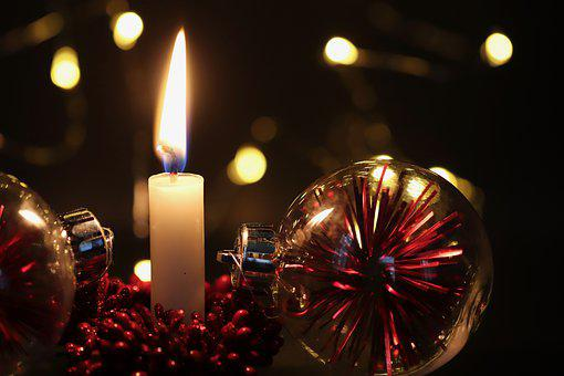 Advent, Christmas, Candle, Candlelight, Decoration