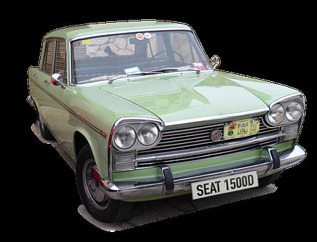 Seat, Seat 1500, Car, Old, Vintage, Retro, Classic