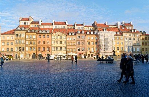 Landscape, Urban, Center, Historic, Buildings, Epoch