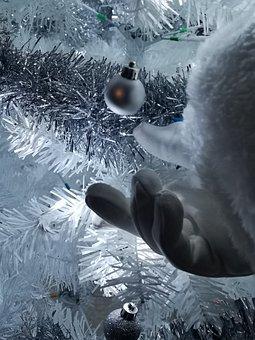 Christmas, Santa Clause, Xmas Tree, Christmas Tree