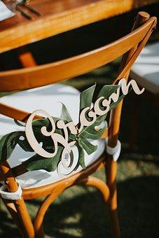 Groom, Wedding Decor, Wedding, Decorative