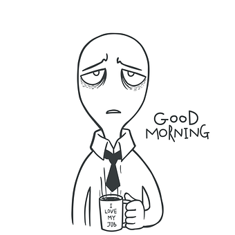 Man, Employee, Office, Manager, Good, Morning