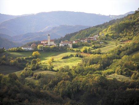 Pareto, Monferrato, Italy, Piemonte, Hills, Nature